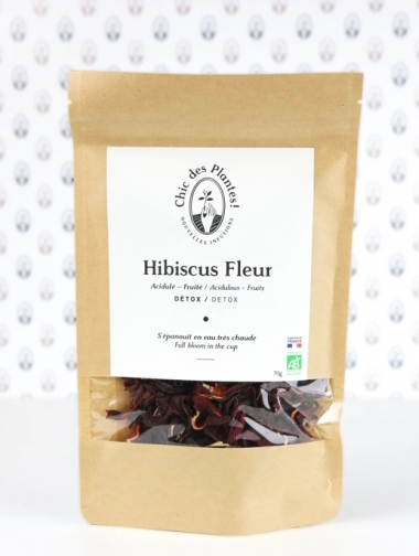 Hibiscus infusion by Chic des Plantes ! Organic and made in France