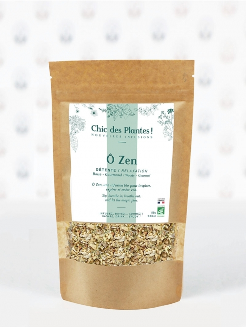 Organic herbal tea - Ô ZEN (BULK)