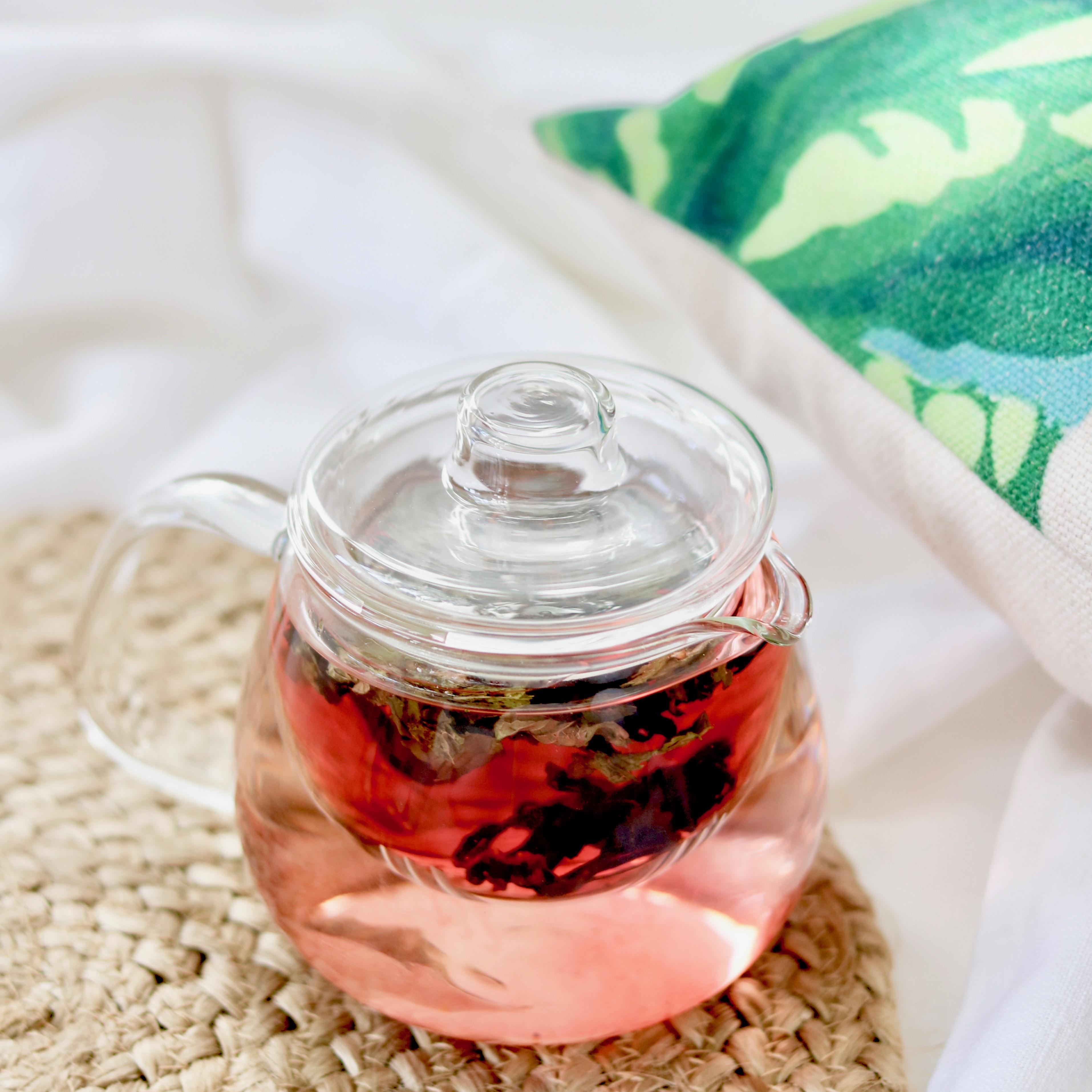 infusion detox fleur d'hibiscus et menthe
