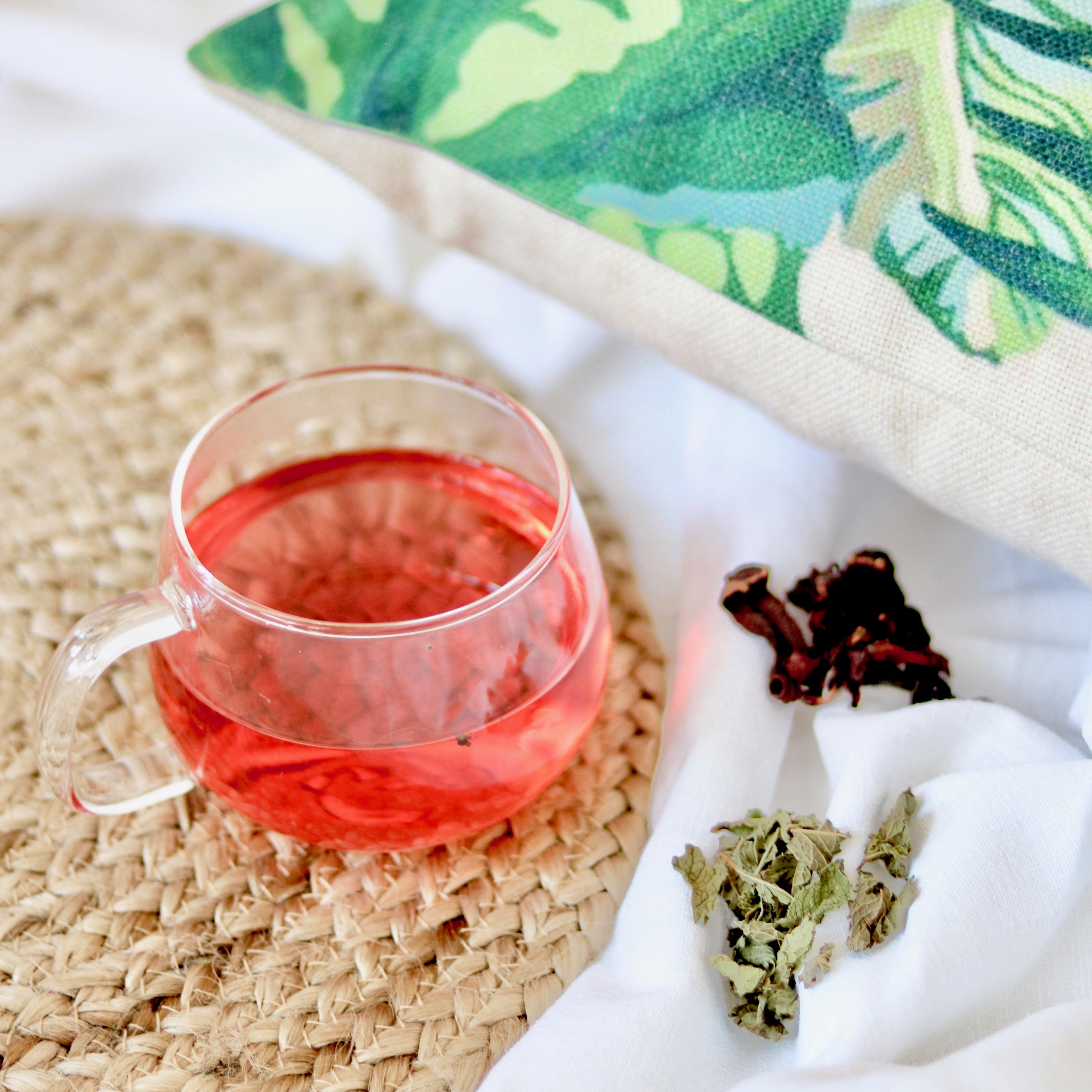 detox hibiscus et menthe