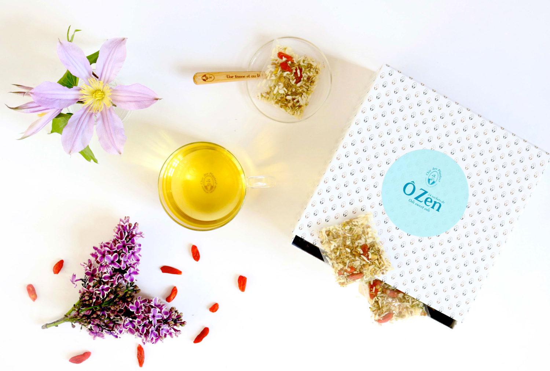 Boîte INFUSIONS BIO- Chic Des Plantes ! – O Zen – infusion – Calme – Apaisante