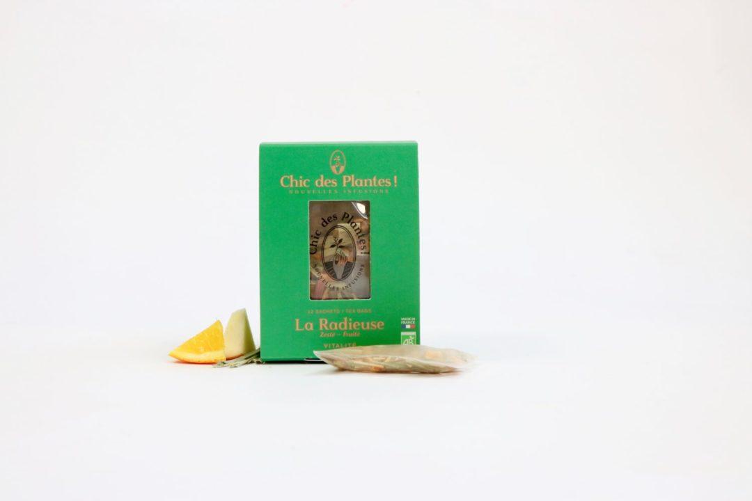 Infusion Bio La radieuse - Boîte tisane