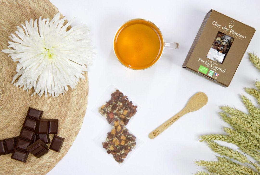 infusion bio cacao gourmande