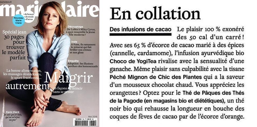 Marie Claire Chic Des Plantes mai 2016