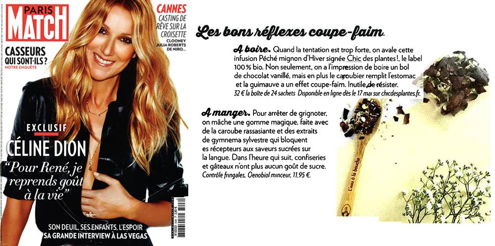 Paris Match Chic Des Plantes juin 2016